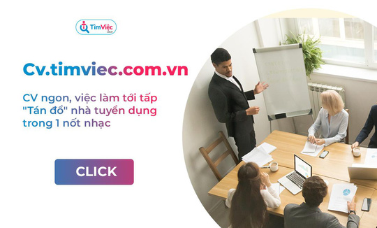 CV.timviec.com.vn - Lựa chọn tối ưu để tạo mẫu CV cho riêng mình - Ảnh 1.