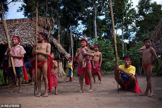 Thổ dân sống biệt lập trong rừng Amazon nhiễm Covid-19 tử vong - Ảnh 1.