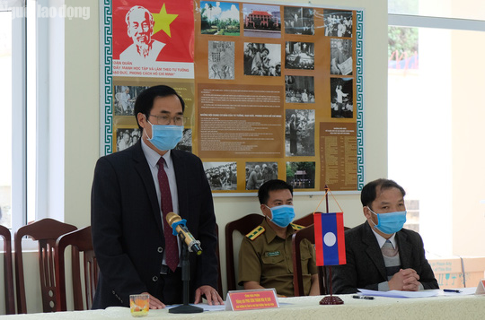 Thanh Hóa hỗ trợ tỉnh Houaphanh - Lào 1 tỉ đồng phòng chống dịch Covid-19 - Ảnh 3.