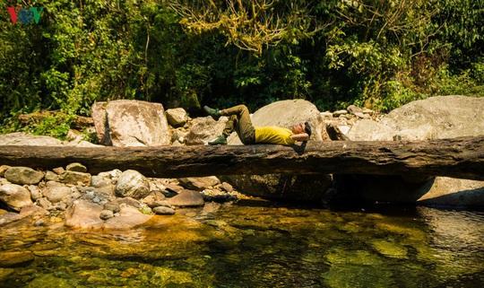 Chinh phục đỉnh Putaleng, đắm say vẻ đẹp của khu rừng cổ tích - Ảnh 4.
