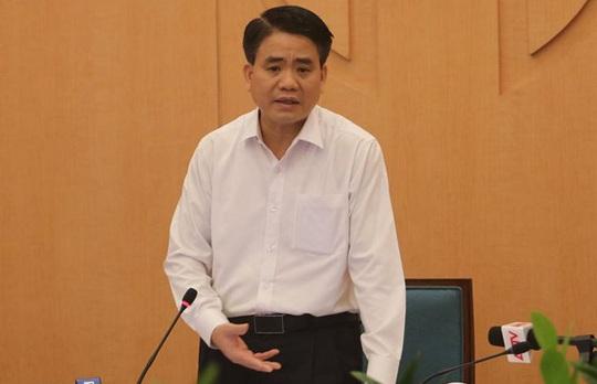 Chủ tịch Hà Nội: Sau 22-4, có thể hạ mức cảnh báo nhưng tiến hành từ từ - Ảnh 1.