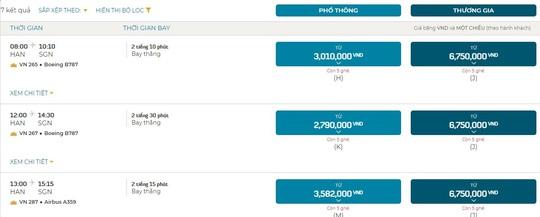 Ít khách, giá vé máy bay vẫn tăng cao - Ảnh 3.
