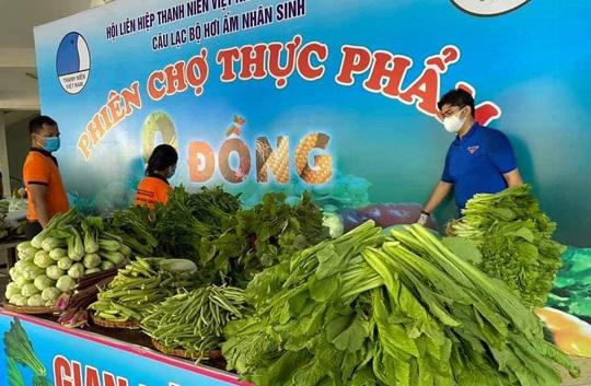 Đồng Nai: Mở phiên chợ 0 đồng ở huyện Long Thành - Ảnh 1.