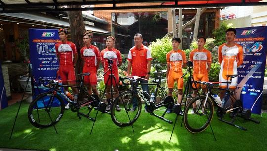 Cuộc đua xe đạp thực tế ảo tranh cúp truyền hình TP HCM - Niềm tin chiến thắng - Ảnh 1.