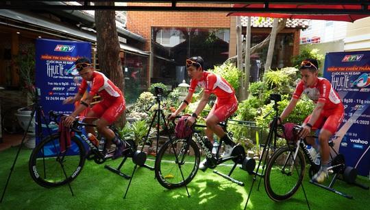 Cuộc đua xe đạp thực tế ảo tranh cúp truyền hình TP HCM - Niềm tin chiến thắng - Ảnh 2.