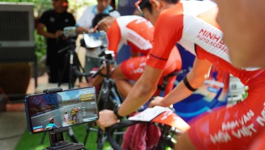 Cuộc đua xe đạp thực tế ảo tranh cúp truyền hình TP HCM - Niềm tin chiến thắng - Ảnh 5.
