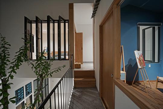 Ngôi nhà vuông vắn trên mảnh đất 60 m2 bất cân xứng - Ảnh 8.