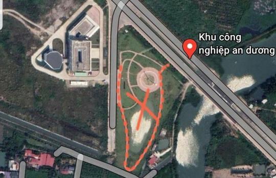 Doanh nghiệp Trung Quốc dựng mô hình giống đường lưỡi bò phi pháp tại Hải Phòng - Ảnh 1.