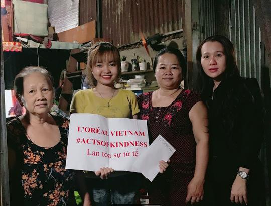 L'Oréal lan tỏa sự tử tế đến các học viên nghèo - Ảnh 1.