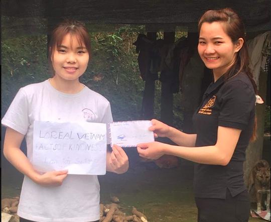 L'Oréal lan tỏa sự tử tế đến các học viên nghèo - Ảnh 2.