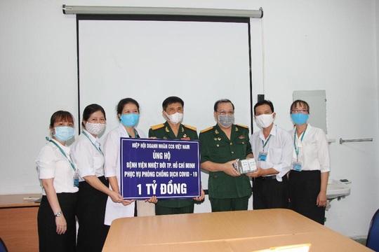 Hiệp hội Doanh nhân Cựu chiến binh Việt Nam đồng hành cùng cả nước chống dịch Covid-19 - Ảnh 1.