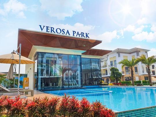 Thanh toán 30%, sở hữu ngay nhà liên kế & biệt thự Verosa Park - Ảnh 3.