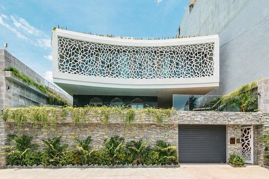 Căn biệt thự lấy cảm hứng thiết kế từ những rặng san hô - Ảnh 1.