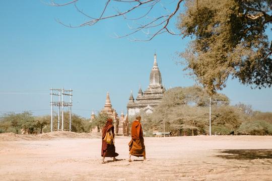 Cuộc sống ở Myanmar là những khung hình bình dị và yên ả - Ảnh 6.