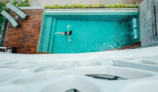 Căn biệt thự lấy cảm hứng thiết kế từ những rặng san hô - Ảnh 9.