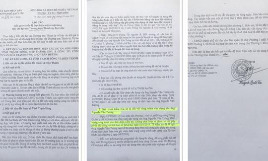 Chủ tịch TP Bạc Liêu ký văn bản đúng- sai - đúng - Ảnh 2.