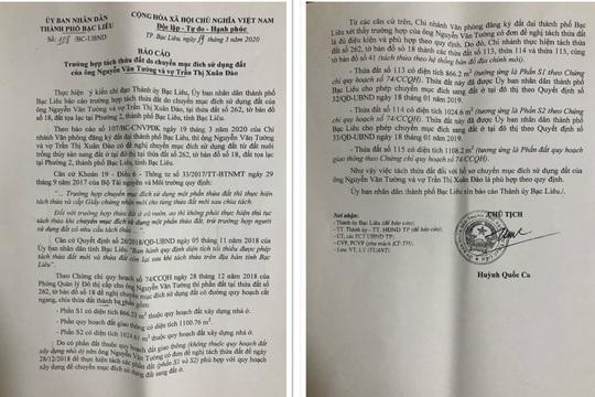 Chủ tịch TP Bạc Liêu ký văn bản đúng- sai - đúng - Ảnh 4.