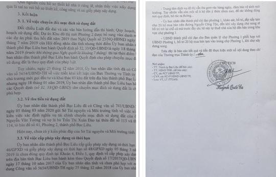 Chủ tịch TP Bạc Liêu ký văn bản đúng- sai - đúng - Ảnh 3.