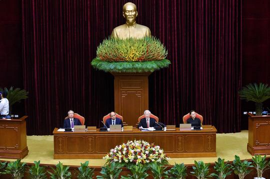 Bà Nguyễn Thị Kim Ngân điều hành phiên họp Trung ương về bầu cử Quốc hội - Ảnh 1.