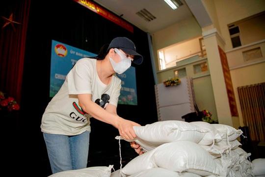 Ca sĩ Đinh Hiền Anh chi gần 1 tỉ đồng làm từ thiện trong dịch Covid-19 - Ảnh 3.