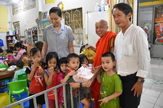 Hình ảnh biết nói ở chùa Kỳ Quang, Trung tâm Thạnh Lộc - Ảnh 3.
