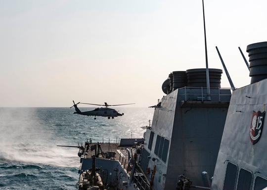 Tàu chiến Mỹ qua eo biển Đài Loan, hoạt động mạnh trên Thái Bình Dương - Ảnh 2.