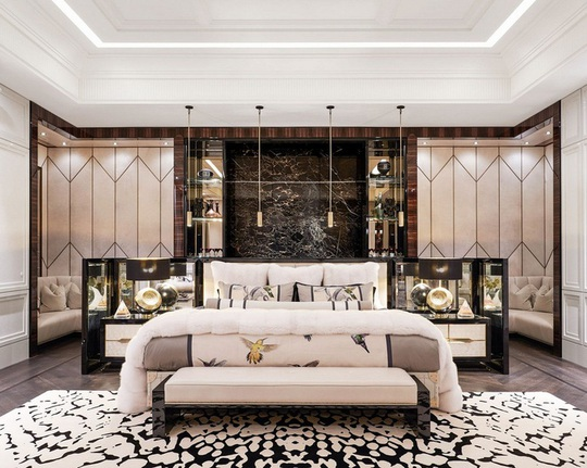 Nhà thiết kế giường 400.000 USD và biệt thự 100 triệu USD - Ảnh 4.