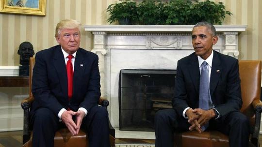 Tổng thống Trump muốn ép ông Obama ra làm chứng - Ảnh 1.