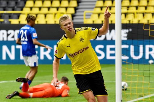 Sát thủ Haaland rực sáng, Dortmund đại thắng derby Bundesliga - Ảnh 5.