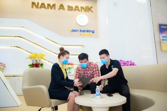 Nhiều ưu đãi hấp dẫn khi giao dịch trực tuyến từ Nam A Bank - Ảnh 2.