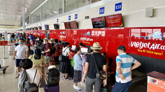 Thay đổi sảnh làm thủ tục tại sân bay Nội Bài đối với các hãng hàng không - Ảnh 1.