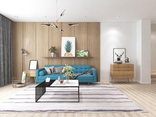 Ngắm căn hộ cho thuê mang màu sắc nhiệt đới - Ảnh 1.