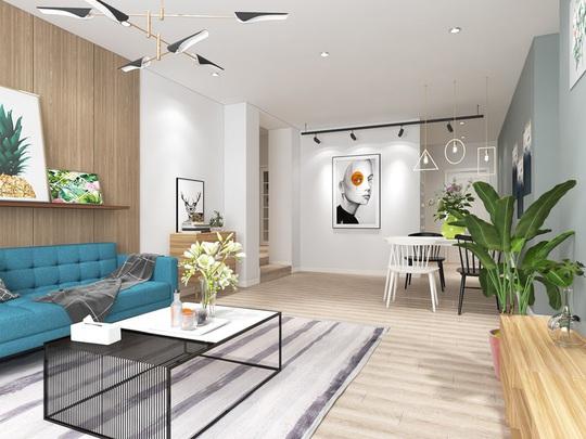 Ngắm căn hộ cho thuê mang màu sắc nhiệt đới - Ảnh 2.