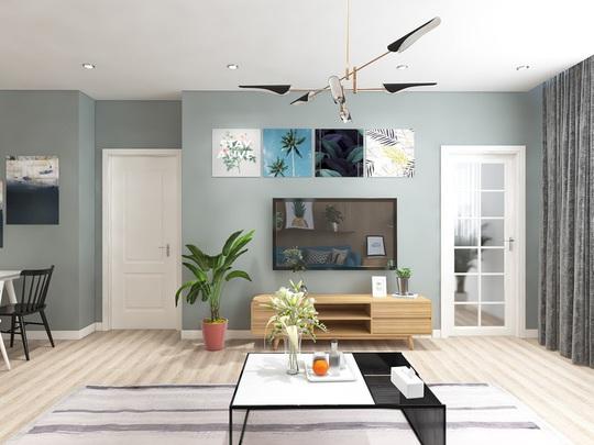 Ngắm căn hộ cho thuê mang màu sắc nhiệt đới - Ảnh 3.