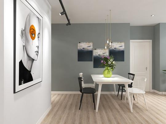 Ngắm căn hộ cho thuê mang màu sắc nhiệt đới - Ảnh 4.