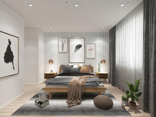 Ngắm căn hộ cho thuê mang màu sắc nhiệt đới - Ảnh 7.
