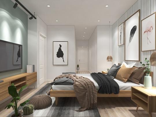 Ngắm căn hộ cho thuê mang màu sắc nhiệt đới - Ảnh 8.