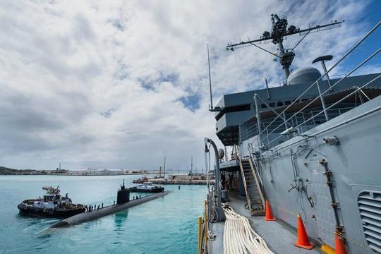 Động thái bất thường của tàu ngầm Mỹ ở Tây Thái Bình Dương - Ảnh 1.