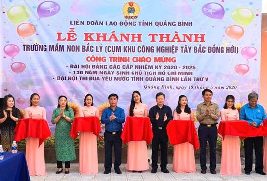 Quảng Bình: Mở rộng trường mầm non cho con công nhân - Ảnh 1.