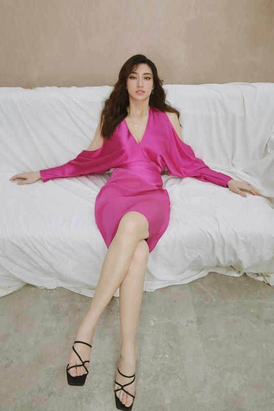 Hoa hậu Lương Thùy Linh lạ lẫm sau đăng quang - Ảnh 6.