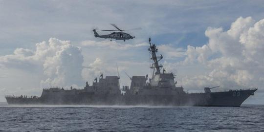 Mỹ tố nhiều vụ chạm trán không an toàn với Trung Quốc trên biển Đông - Ảnh 1.