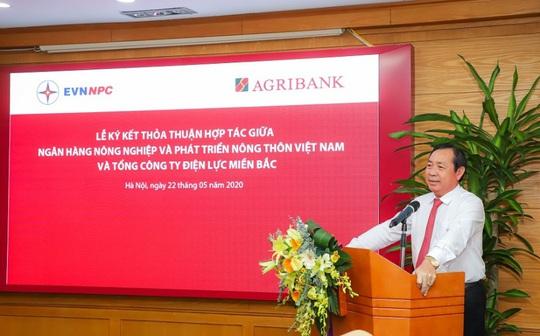 Agribank và Tổng Công ty Điện lực Miền Bắc nâng tầm hợp tác - Ảnh 1.