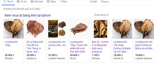 Lá bàng khô bán... online giá 1.000 đồng/lá, mặt hàng gây sốt mạng - Ảnh 2.