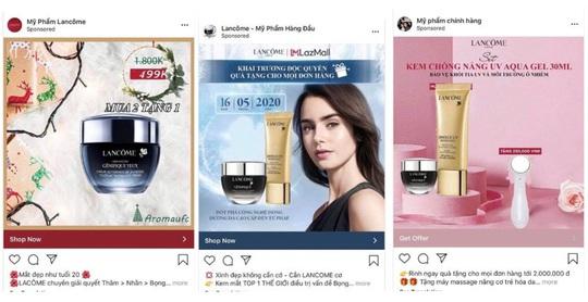 Lancôme Việt Nam cảnh báo hàng loạt fanpage, website lừa đảo - Ảnh 2.