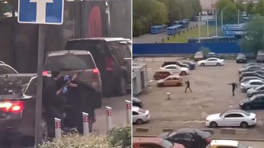 Đấu súng giữa ban ngày ở thủ đô của Nga - Ảnh 1.