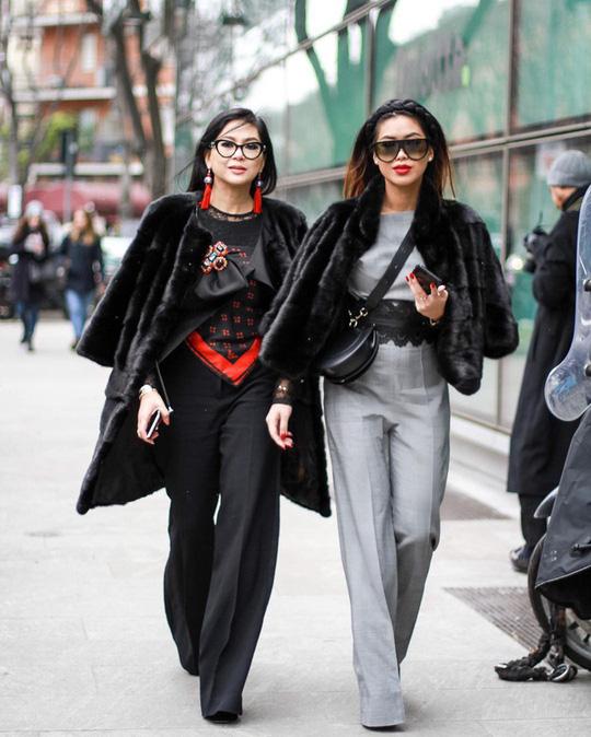 Tiên Nguyễn và mẹ khoe sắc vóc trong loạt váy áo hàng hiệu đắt đỏ - Ảnh 8.