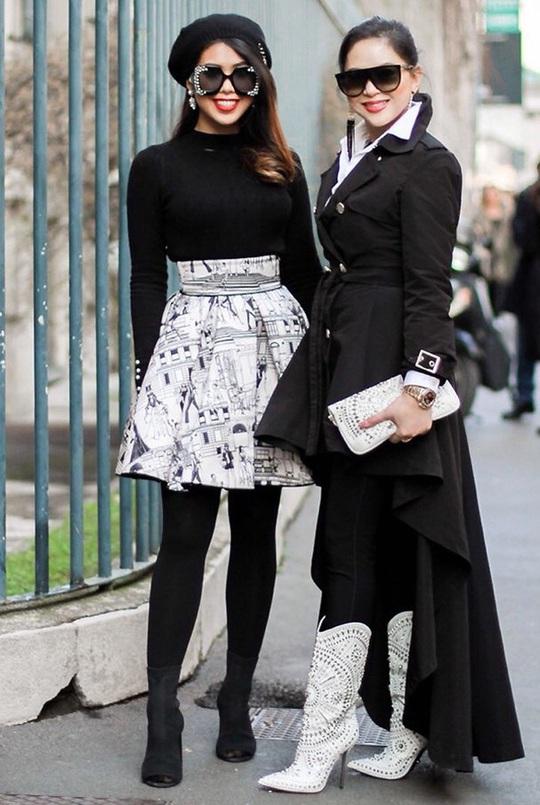 Tiên Nguyễn và mẹ khoe sắc vóc trong loạt váy áo hàng hiệu đắt đỏ - Ảnh 10.