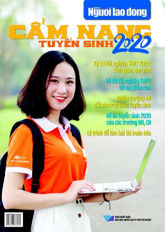 Ngày 1-6, Báo Người Lao Động phát hành Cẩm nang tuyển sinh 2020 - Ảnh 1.