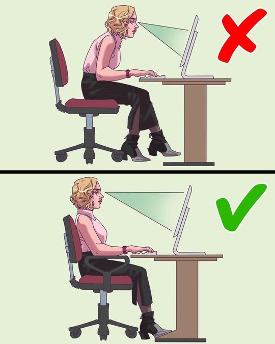 10 thói quen xấu ảnh hưởng đến sức khỏe của dân văn phòng - Ảnh 1.