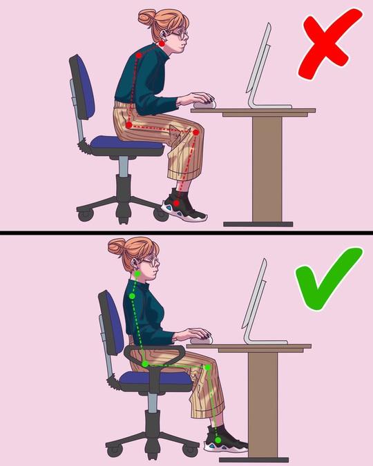 10 thói quen xấu ảnh hưởng đến sức khỏe của dân văn phòng - Ảnh 3.